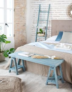 Beach Inspired Bedroom, Beach House Bedroom, Beach House Decor, Home Bedroom, Bedroom Decor, Home Decor, Design Loft, House Design, Sico