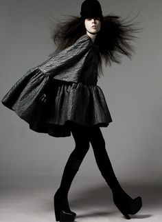 Balenciaga | Fall 2006, RTW Campaign, Coco Rocha by David Sims