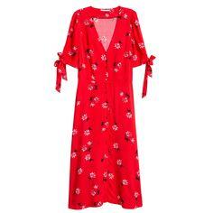 Robes longues printemps été : une robe H&M
