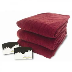 Biddeford Blankets Knit Microplush Warming Blanket with Digital Controller Size: King, Color: Brick - 2004-300D