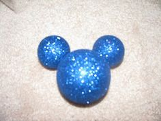 Mickey Mouse Ornaments- using plastic dollar store ornaments