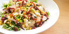 BBQ Chiken Salad