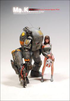 Mercenary Force Female Space Pilot - http://blog.naver.com/kunyho78/120199081811