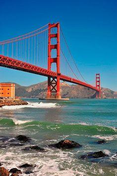 Baie De San Francisco, Usa San Francisco, San Francisco California, California Usa, Dream Vacations, Vacation Spots, San Francisco Wallpaper, Puente Golden Gate, Parks