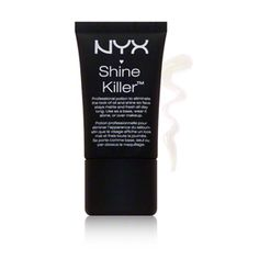 NYX Shine Killer 13 dollars shine killing primer Put an end to oily skin. NYX Shine Killer absorbs excess oil and diminishes pores and wrinkles for a smooth, shine-free complexion. Dab on forehead, cheeks, nose and chin to create a perfect matte canvas ready for a seamless foundation application. nordstromrack?