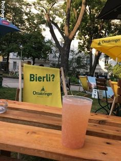 Sophienspital - Pop-Up - the hospital grounds open to everyone Drinking Around The World, Mobile Bar, Meals For One, Grapefruit, Pop Up, Make It Yourself, Drinks, Drinking, Beverages