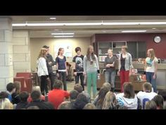 Banned Books Theater Project by Upstart Crow Theatreworks of Decorah High School (Iowa).