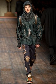 #Dolce&Gabbana Fall #2014 #Menswear #Collection on #Style.com
