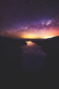 "lmmortalgod: "" Milky Way colour show """