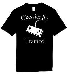 Signature Depot - Classically Trained (controller) Novelty T-Shirt, $11.95 (http://www.signaturedepot.net/classically-trained-controller-novelty-t-shirt/)