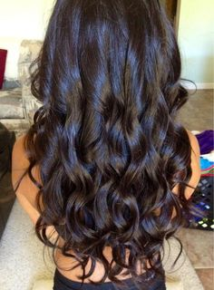 dark curls