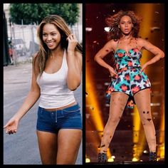 #Beyonce. From then, to now.
