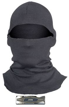 """NOMEX: Created by Damascus Protective Gear™, leaders in full body protective gear for law enforcement, military, and beyond.  This Damascus® hood (also sometimes called """"balaclavas"""") was designed to provide heat and flame protection and comfort to the head and neck in SWAT and other tactical situations."""
