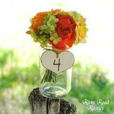 Wedding Table Numbers-
