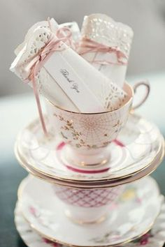 DIY Tea Party Favor - Doily Wrapped Candy Bar