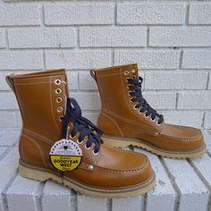 Deadstock Giant Work Boots men's Size 9.5  crepe by JointCustodyDC, $54.99
