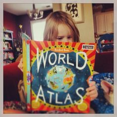 The Barefoot Books World Atlas is a colorful way to introduce your children to people, places, animals, and environments of the world! #childrensbooks  (I needed an atlas for my niece when traveling last week. You can not see the big picture on mobile! http://www.debbixler.com/party-plan-training/ )