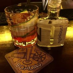 Increíble Cocktail by @adalmarquezbartender en @boadascocktails #barcelona smoked and salted by @nginious