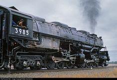 RailPictures.Net Photo: UP 3985 Union Pacific Steam 4-6-6-4 at Lodgepole, Nebraska by Mike Danneman