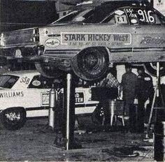 Dan Bell's (dhb2) 66 67 FAIRLANES Album Nhra Drag Racing, Nascar Racing, Auto Racing, Ford Granada, Old Hot Rods, Old Garage, Ford Fairlane, Repair Shop, Vintage Race Car
