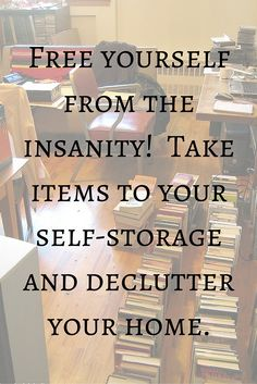 Take items you don't use daily to storage and avoid the clutter.  Decluttering can make your space feel so much cleaner and you don't have to make the tough choice of getting rid of things you want to keep.