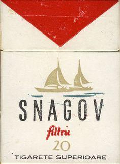 Snagov Filtru 20 Tigarete - Sold in Romania 1980's
