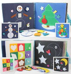 Children's Quiet Book Busy Book Eco friendly Toddler от MiniMoms