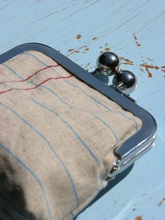 A Notebook coin purse from Etsy by  Tal Talika