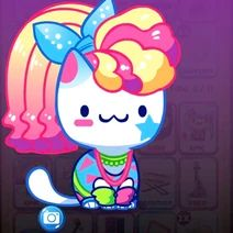 Cat Collector, Kitty Games, Image Cat, Smurfs, Hello Kitty, Cats, Fictional Characters, Gatos, Kitty Cats