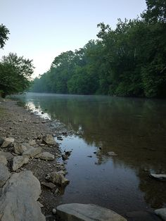 The Conestoga River in Lancaster County Park, PA.