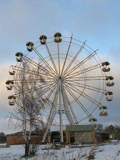 Abandoned Roadside - amusement park