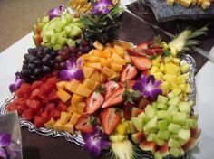 fruit platter ideas | Photo Gallery - Photo of a Fresh Fruit Tray