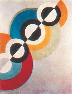 Р. Делоне. «Ритмы 579», 1934 год