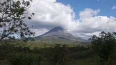 Arenal Volcano Afternoon