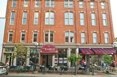 The Earle Building in downtown Ann Arbor, MI.