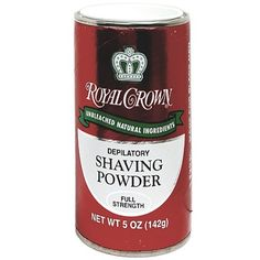Royal Crown Depilatory Shaving Powder - Full Strength 5 oz  $2.25   Visit www.BarberSalon.com One stop shopping for Professional Barber Supplies, Salon Supplies, Hair & Wigs, Professional Products. GUARANTEE LOW PRICES!!! #barbersupply #barbersupplies #salonsupply #salonsupplies #beautysupply #beautysupplies #hair #wig #deal #promotion #sale #RoyalCrown #Depilatory #Shaving #Powder #FullStrength