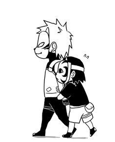 Kakashi & Tenzo