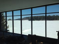 Le lac est calme (hiver 2014)