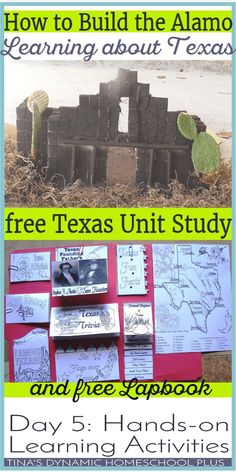 to Build the Alamo: Day 5 Hands-on Learning (Free Texas Unit Study) How to Build the Alamo. Learning about Texas. Grab your free unit study and lapbook @ Tina's Dynamic Homeschool PlusList of USB-C Power Delivery chargable laptops History Activities, Teaching History, Hands On Activities, 4th Grade Social Studies, Teaching Social Studies, Texas History 7th, Texas Revolution, American Revolution, History Classroom