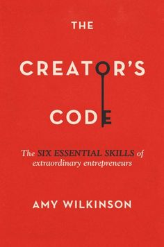 'The Creator's Code' by Amy Wilkinson