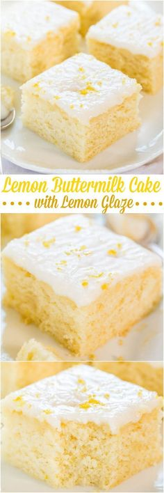 Lemon Buttermilk Cake with Lemon Glaze - An easy little cake with big lemon flavor!! Soft, fluffy, a... - http://pinterest.com/pin/A3NcYgAQwLACgG2zAF4AAAA/?s=3&m=vingle