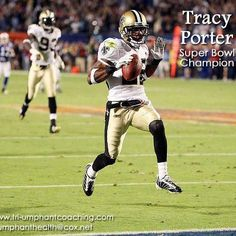 Tracy Porter, Superbowl Champion with the Saints and now with the Denver Broncos uses our products and when asked why he said...'gives me an edge'... weight loss is a side benefit~