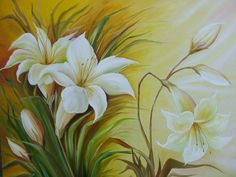Donna Dewberry Painting, Bottle Painting, Flower Pictures, Easy Paintings, Pictures To Paint, Art World, Watercolor Flowers, Painting & Drawing, Flower Art