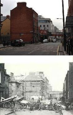 Dublin 1916 Then & Now – Pictures from the 1916 Rising
