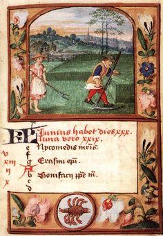 ArtistUnknown Miniaturist, Flemish (active c. 1525 in Flanders)  TitleFolio of a Breviary  Datecirca 1525