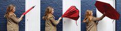 Inside Out Umbrella | Yanko Design