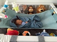 A co-sleeper is a baby bed that attaches to one side of an adult bed. It allows baby to remain close to the parents at night without actually being in the adult bed (which can be dangerous sometime… Diy Bebe, Baby Nest, Baby Necessities, Baby Swings, Newborn Shoot, Baby Bedroom, Baby Play, Baby Hacks, Baby Cribs