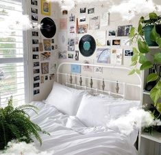 to bedroom decor decor tips decor plants for bedroom decor decor and storage decor hacks decor joanna gaines decor target Room Ideas Bedroom, Bedroom Inspo, Girls Bedroom, Girl Rooms, Indie Bedroom Decor, Couple Bedroom, Bedroom Art, Cozy Bedroom, Bedroom Designs