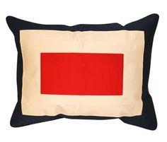 My Island Home - Code Flag Cushion Covers - W