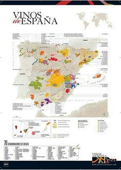 Wine regions Spain   #Wine #Spain  Re-pinned by www.avacationrental4me.com